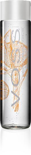 VOSS FLAVORED Sparkling Water TANGERINE - LEMONGRASS 375 ml Norwegen