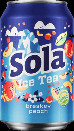 SOLA Ice Tea PEACH 330 ml Slowenien