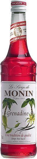 MONIN Premium Grenadine Sirup 70 cl Frankreich
