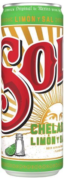 SOL CHELADA Limon y sal Beer Dose 473 ml / 3.5 % Mexiko