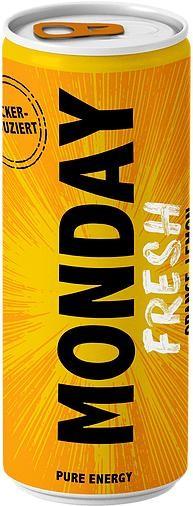 MONDAY FRESH Zuckerreduzierter Energy Drink 250 ml Schweiz