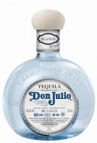 DON JULIO Blanco Tequila 70 cl / 38 % Mexiko