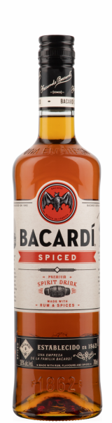 BACARDI SPICED Rum 70 cl / 35 % Puerto Rico