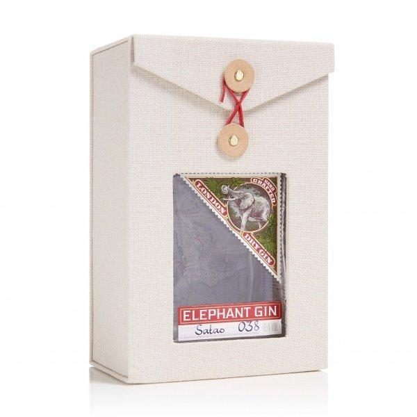 ELEPHANT Hand Crafted Dry Gin mit edler BOX 50 cl / 45 % Deutschland