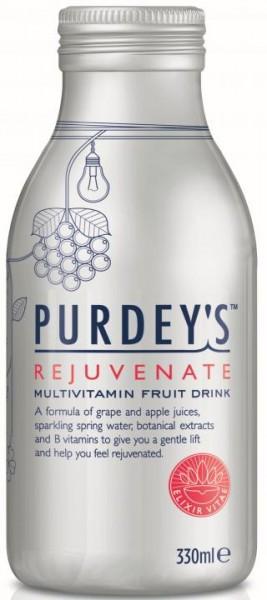 PURDEY'S Rejuvenate Drink 330 ml Glas UK