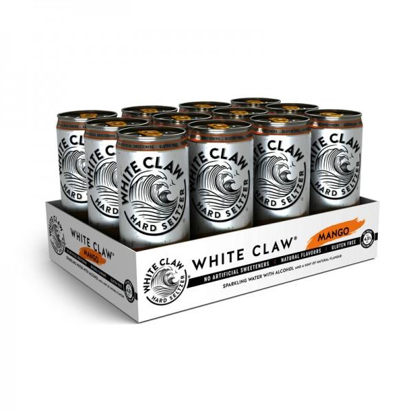White Claw HARD SELTZER MANGO Kiste 24 x 330 ml / 4.5 % EU