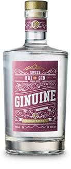 Ginuine Gin Strawberry 70 cl / 40 % Schweiz