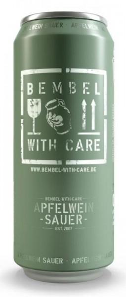 BEMBEL WITH CARE Apfelwein- Schorle 500 ml / 4 % Deutschland