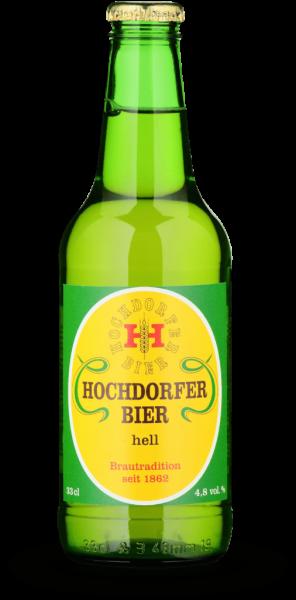 HOCHDORFER Bier Hell Kiste 24 x 330 ml / 4.8 % Schweiz