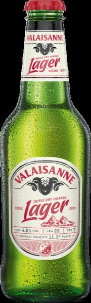 Valaisanne LAGER triple dry hopped 330 ml / 4.8 % Schweiz