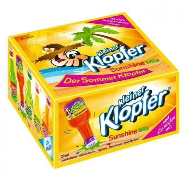 Kleiner KLOPFER SUNSHINE Mix Box 25 x 20 cl / 16 % Italien