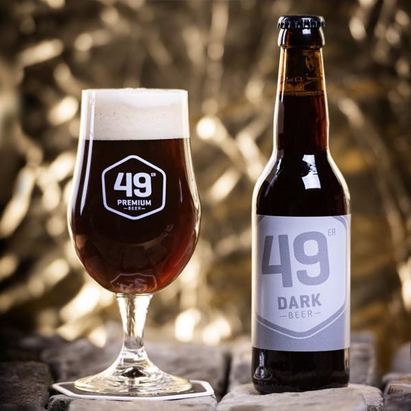 49 er Premium Bier DARK Kiste 20 x 330 ml / 5.0 % Schweiz
