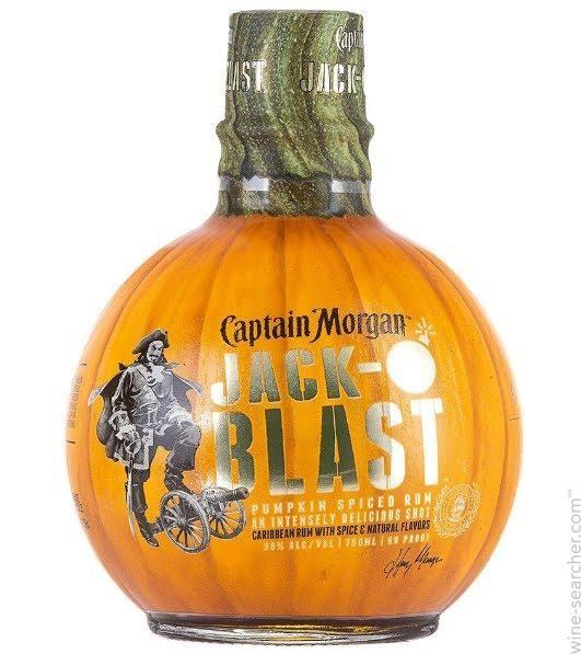 Captain Morgan JACK o BLAST 75 cl / 30 % Karibik