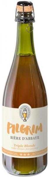 PILGRIM BIÈRE D`ABBAYE Triple BLONDE 75 cl / 10.5 % Schweiz