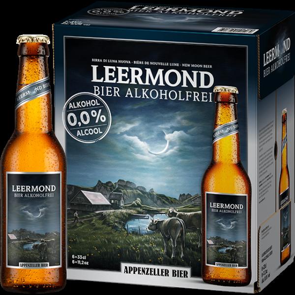 Appenzeller Leermond Alkoholfrei 24 x 330 ml / 0 % Schweiz