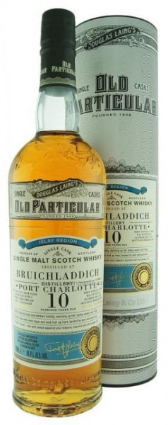 Port Charlotte Douglas Laing Old Particular Single Cask Port Hogshead 10 Years 70 cl / 48.4 % Schot