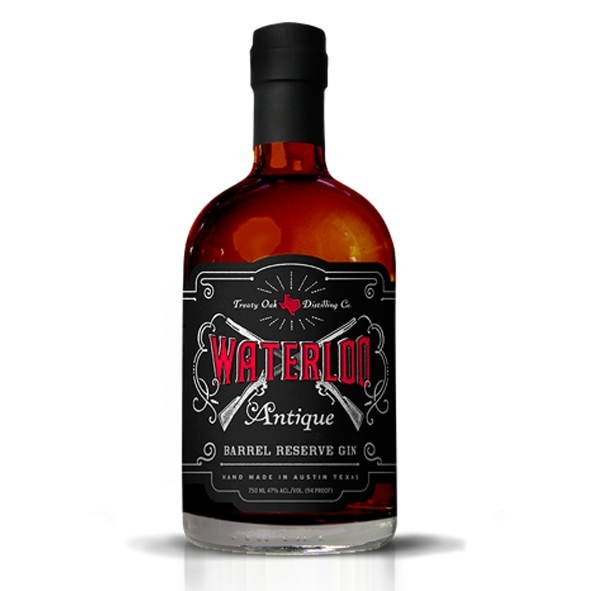 WATERLOO Antique Gin Barrel Reserve 75 cl / 47 % USA