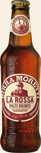 Birra MORETTI La Rossa 330 ml / 7.2 % Italien