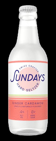 Sundays Hard Seltzer GINGER CARDAMON 330 ml / 4 % Schweiz