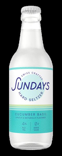 Sundays Hard Seltzer CUCUMBER BASIL 330 ml / 4 % Schweiz
