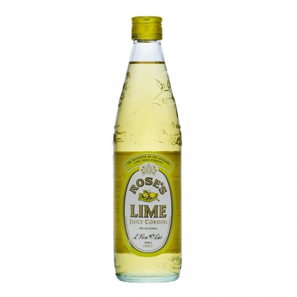 ROSE'S LIME Flavour Cordial Mixer 57 cl Dänemark