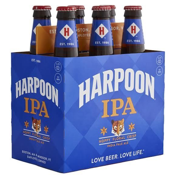 HARPOON IPA Beer Kiste 24 x 355 ml / 5.9 % USA