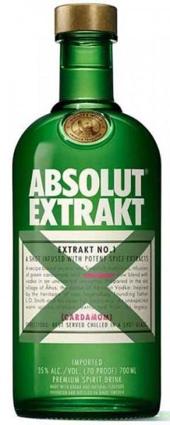 Absolut Vodka EXTRAKT 70 cl / 35 % Schweden