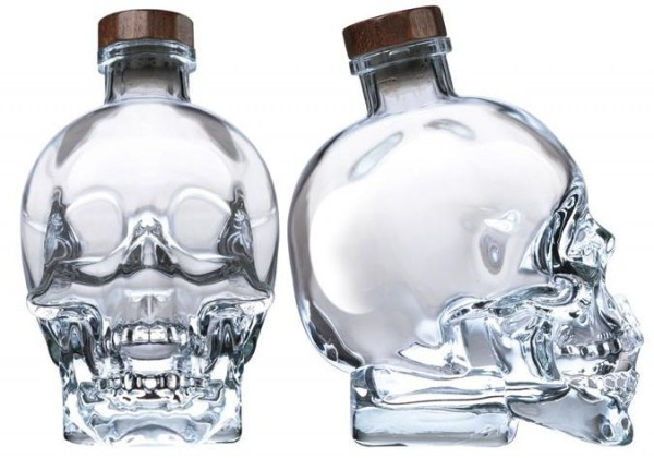 Crystal Head Vodka Skullflasche 70 cl / 40 % Kanada