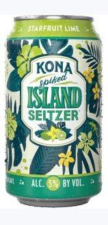 Kona Island Hard Seltzer STARFRUITLIME 355 ml / 5 % Hawaii