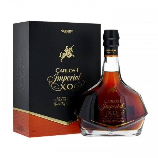 Brandy CARLOS I Imperial XO 15 Years 70 cl / 38 % Spanien