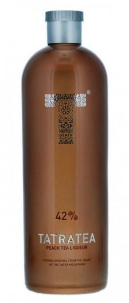 TATRATEA Peach & White Tea Liqueur 70 cl / 42 % Slowakei