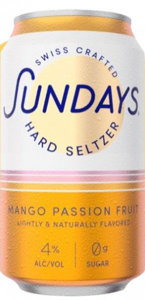 Sundays Hard Seltzer MANGO PASSIONFRUIT DOSE 330 ml / 4 % Schweiz