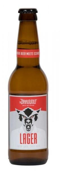 Dr. BRAUWOLF LAGER 330 ml / 4.6 % Schweiz