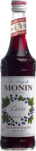 MONIN Premium Cassis / Blackcurrant 70 cl Frankreich