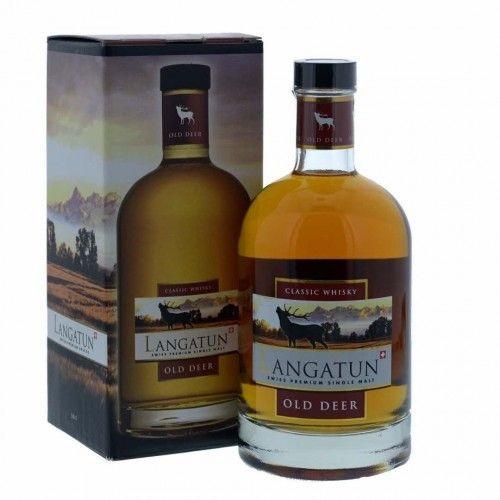 LANGATUN OLD DEER Single Malt Whisky CASK STRENGH 50 cl / 63.8 % Schweiz