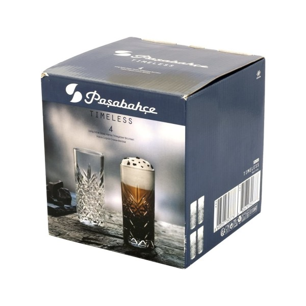 Pasabache Timeless Long Drink Glas 295 ml Set of 4