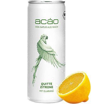 ACAO Smart Drink BIO QUITTA - LEMON 250 ml Germany