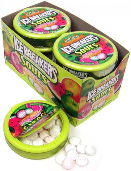 Ice Breakers Sours Packung 16 x 42 Gramm USA
