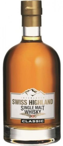 Swiss Highland Single Malt Whisky Classic 70 cl / 46 % Schweiz