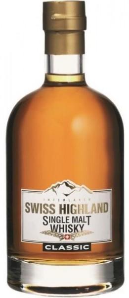 Swiss Highland Single Malt Whisky Classic 70 cl / 46 % Schweiz
