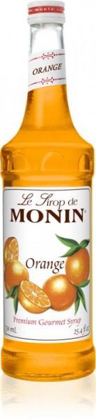 MONIN Premium Orange Sirup 70 cl Frankreich