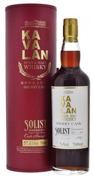 KAVALAN SOLIST Sherry Single Cask Taiwan Whiskey 70 cl / 57.8 % Taiwan