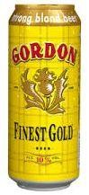 GORDON Finest Gold 33 VP Bier Dose 24 x 500 ml / 10 % Schottland