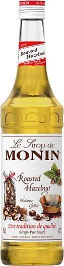 MONIN Premium Roasted Hazelnut / Noisette grillè Sirup 70 cl Frankreich