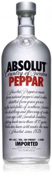 Absolut Vodka PEPPAR 50 cl / 40 % Schweden