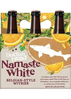 DOGFISH HEAD NAMASTE Witbier Kiste 24 x 355 ml / 5 % USA