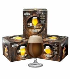 Craft Beerglas 4 er Geschenk Set Ritzenhoff SONORA Typ Kelch 400 ml Inhalt Deutschland