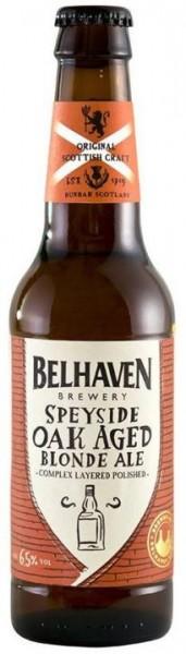 BELHAVEN Speyside Oak Aged Blonde Ale 330 ml / 6.5 % Schottland