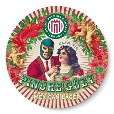 PINCHE GÜEY Mexican Lager 330 ml / 4.1 % UK