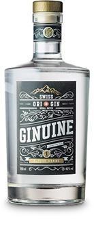 Ginuine Gin Alpine Herbs 70 cl / 40 % Schweiz